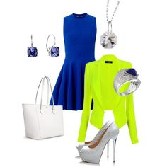 """""""""""Stand out"""" this summer with these statement pieces from ELLE Time and Jewelry."""" by elle-jewelry on Polyvore"""