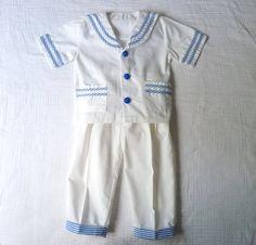 Vintage toddler sailor outfit 2T     LazerBabyVintage, $16.00