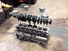 ¿Qué motor colocarías en el salón de tu casa? 10 mesas creadas con motores