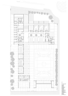 Gallery of Early Childhood and Primary Education Center / Fernández Soler Monrabal Arquitectos - 12 - Einrichtungsstil Architecture 101, Education Architecture, School Architecture, Education Center, Primary Education, School Plan, College School, Sports Complex, School Building
