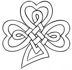 Draw A Celtic Clover Knot Step By Drawing Sheets Added Dawn February Am