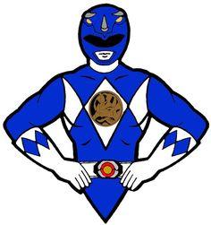 power ranger blue, rhino?