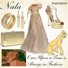 """Disney Style: Nala"" by trulygirlygirl ❤ liked on Polyvore"
