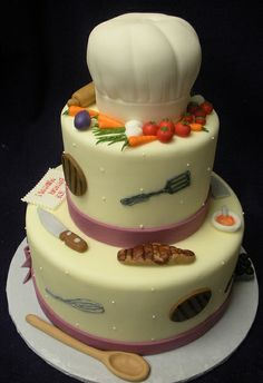 Chef Cake by Angel Contreras, via Flickr