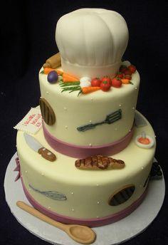 Chef Cake by Angel Contreras, via Flickr