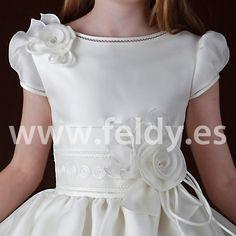 aguascalientes vestidos de primera comunion | Vestido Comunión Hannibal Laguna 2013 C337