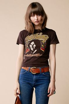 Stoned Immaculate Vintage ... Neil Young '78 Tour Tee