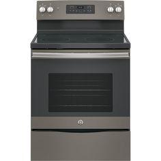 "GE Appliances JB645EKES 30"" Freestanding Electric Range - Slate - Appliances - Ranges - Electric Ranges"