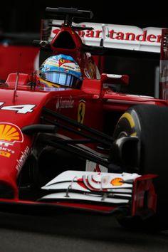 On Track w/Fernando Alonso for the 2014 Monaco Formula One Grand Prix at Circuit de Monaco