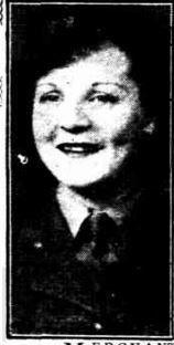 1943 Cecilia Honan, stenographer in AWAS