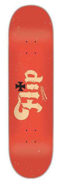 Flip Skateboards: Decks: 8.10in x 32.20in Contino Marque Deck