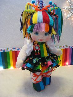 Best 12 OOAK Mattel My Child Doll ~ Robot Love ♥ if I had this my childhood would have been infinitely awesome Fabric Dolls, Paper Dolls, Rag Dolls, My Child Doll, Waldorf Dolls, Doll Hair, Soft Dolls, Soft Sculpture, Stuffed Toys Patterns