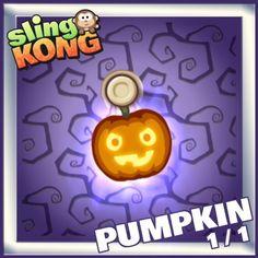 My kong (pumpkin 1/1) on game Sling Kong 💖 #SlingKong