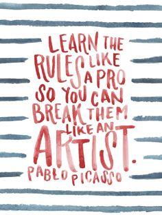Pablo Picasso - Famous Sayings - Inspirational Quotes - Words of Wisdom - Poster Design