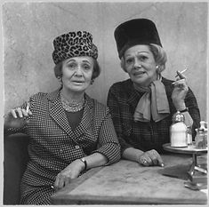 two ladies at the automat NYC 1966 by Diane Arbus