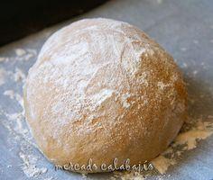 Pan de gofio con masa madre