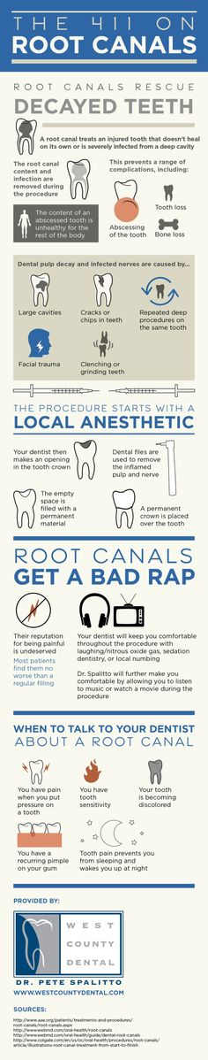 What do you picture when you think of root canal therapy? This treatment gets a bad reputation even though it is not significantly more painful than getting a regular filling! View this St. Louis family dentistry infographic to learn more about root canals.