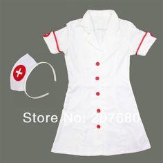 Trajes de la enfermera fiesta de disfraces de Halloween trajes para niñas de la escuela escenario escénicas arropa en Ropa de Novedad y de uso especial en AliExpress.com | Alibaba Group