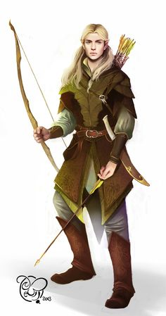 "Prince of Mirkwood by IriusAbellatrix.deviantart.com on @deviantART - Legolas from ""The Lord of the Rings""."