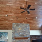 Custom tongue and groove wood paneling for walls and ceilings, tailored to the look & style you want. Pine paneling, cedar & many hardwood species. Tongue And Groove Panelling, Ship Lap Walls, Wood Paneling, Hardwood, Cherry, Ideas, Home, Products, Wooden Panelling