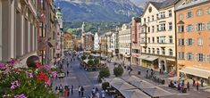 Explore the charming city Innsbruck: It's historic sights are nestled in the Old Town. Head outside the city to the Swarovski Crystal World for a dazzling introduction to the famous crystals from Tirol. #feelaustria #innsbruck #tirol #sightseeing #history #austria