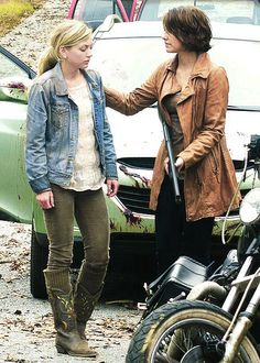 Maggie and Beth Greene, Sisters in the apocalypse | The Walking Dead
