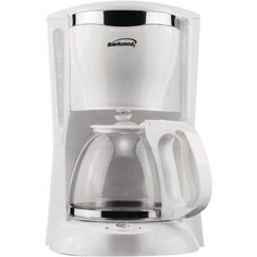 Brentwood 12-cup Coffee Maker (white) – MNM Gifts