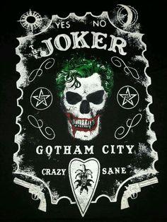Joker Skull - Gotham City