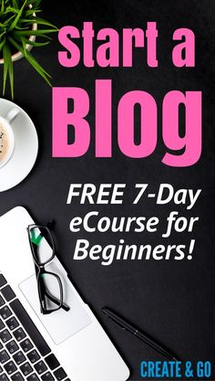 Looking for how to start a successful blog? You're in the right place: http://createandgo.co/free-blog-course/ This free 7-day eCourse walks you through everything from picking the right domain name, selecting your blog niche, designing your website, and everything in between. So start a successful blog today with us! :)