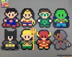 Tebeos de la C.C. imanes o adornos - adornos de DC Comics, Superman, Wonder mujer, Batman, Flash y más!