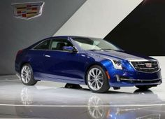 The 2015 Cadillac ATS Coupe was reveled at the North American International Auto Show.