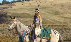 Plateau | 2015 | Appaloosa | beadwork | Wallowa band Non Treaty Nez Perce, Oregon Katie Harris, photo by Deborah Harris