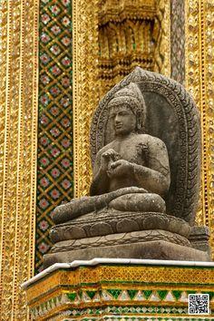 Buddha at Grand Palace, Bangkok