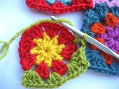 Joining Motifs – Crochet
