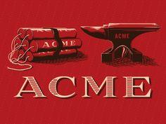 Los 126 productos marca ACME con los que el Coyote nunca atrapó al Correcaminos // Ilustraciones de Rob Loukotka