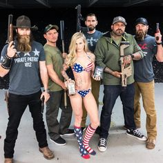 """Black Rifle Coffee Company on Instagram: """"The Coffee Squad @themanspot  @eli_doubletap  @caitdallas  @mat_best_official  @bigpapi_official  @blackriflecoffee_logan"""" Black Rifle Coffee Company, Mat Best, Logan, Squad, Bikinis, Swimwear, Instagram Posts, Fashion, Bathing Suits"""