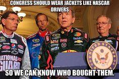 Congress Sould Wear Jackets