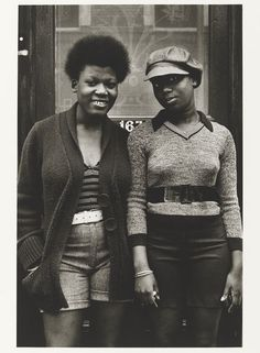 Al Vandenberg, 'Kings Road', from the series 'On a Good Day'. Museum no. The Estate of Al Vandenberg / Victoria and Albert Museum, London. Supported by the National Lottery through the Heritage Lottery Fund. Vintage Black Glamour, Vintage Beauty, Black Girls, Black Women, Youth Culture, My Black Is Beautiful, British History, Tudor History, Victoria And Albert Museum