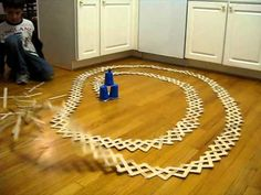 Kinetic v. Potential Energy-  Cobra Weave Exploding Stick Bomb by andygatt, youtube #Science #Stick_Bomb