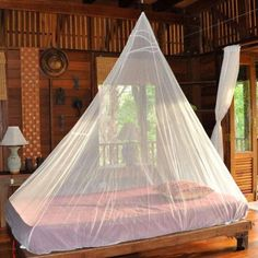 Cocoon Single Travel Mosquito Net with or without Insect Shield, White
