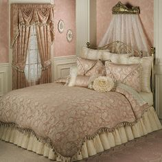 Chantilly Rose Comforter Bedding