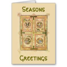 Book of Kells Greeting Card just sold thank you!