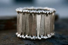 Selen Designs pewter De Reve' Cuff Bracelet