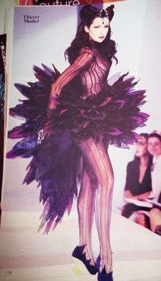 Thierry Mugler. The inspiration for Koan/Catsy.