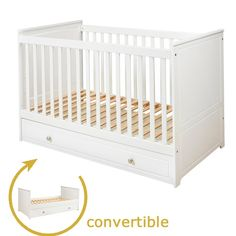 http://www.funiquecots.co.uk/childrens-furniture/finest-quality-2-in-one-cot-bed-70-140-optional-bottom-drawer.html