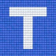 X Letter T | Pixel Party