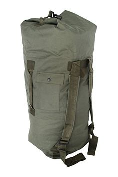 0c9282e8e60f Buy Military Army Style Heavy Duty Double Backpack Strap Duffel Duffle Bag  - Olive Drab - and find your ideal Sports Duffels at affordable prices and  fast ...