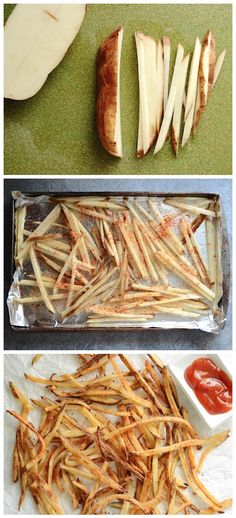Smoky Garlic Oven Fries Recipe