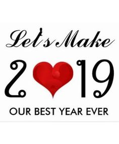 Happy New Year 2019 Motivational Quote Heart Postcard - New Year's Eve happy new year designs party celebration Saint Sylvester's Day New Year Message For Boyfriend, Happy New Year Message, Happy New Year Quotes, Quotes About New Year, Happy New Year 2019, New Year Wishes, Happy Quotes, Life Quotes, Thank You Quotes For Boyfriend