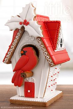 Casita de jengibre | Gingerbread house. WOW!